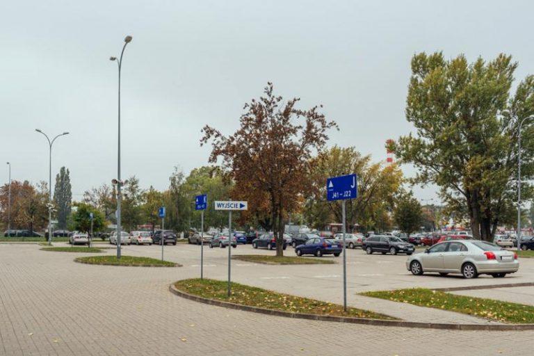 Parking P+R POŁCZYŃSKA