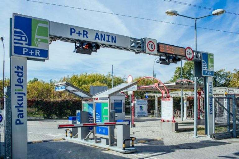 Parking P+R ANIN SKM