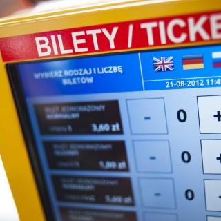wybór rodzaju i liczby biletów
