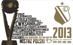 wzór karty kibica klubu Legia Warszawa