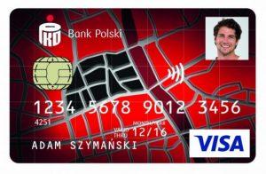wzór Warszawskiej Karty Płatniczej od banku PKO BP