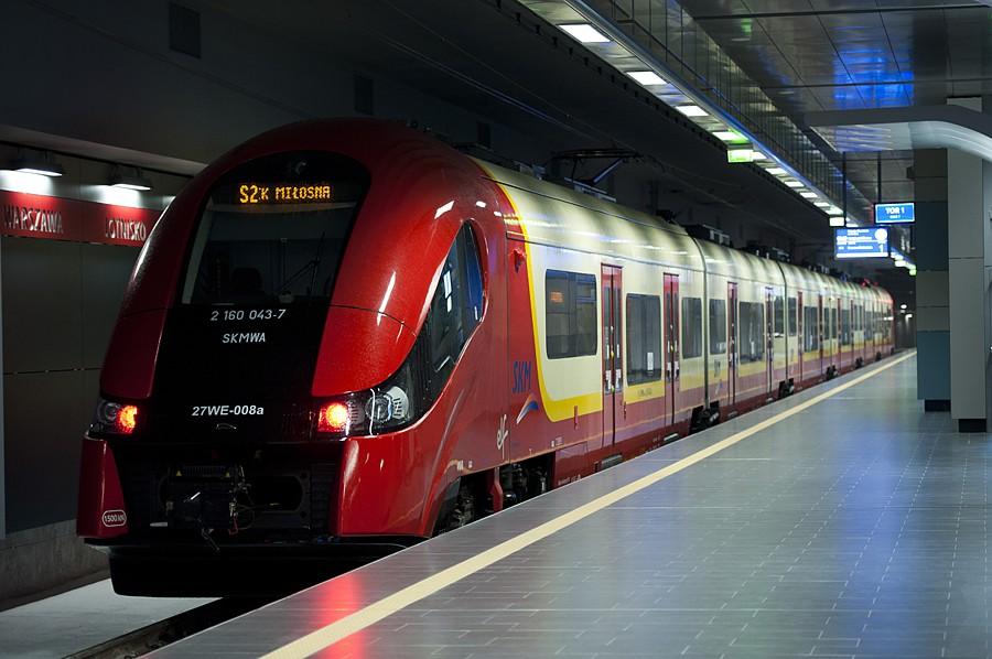 zdjęcie pociągu SKM
