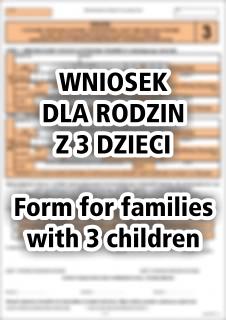 wnioski dla rodzin z trójką dzieci