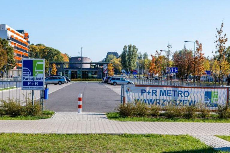 Parking P+R METRO WAWRZYSZEW