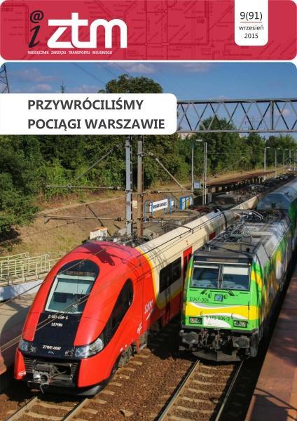Przywróciliśmy pociągi Warszawie