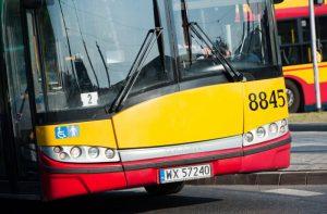 zdjęcie przodu autobusu
