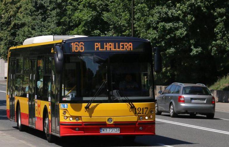 Koniec objazdu na linii 166