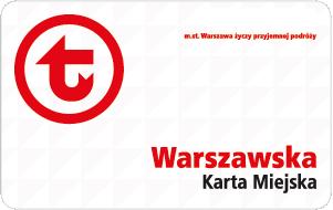 wzór Warszawskiej Karty Miejskiej