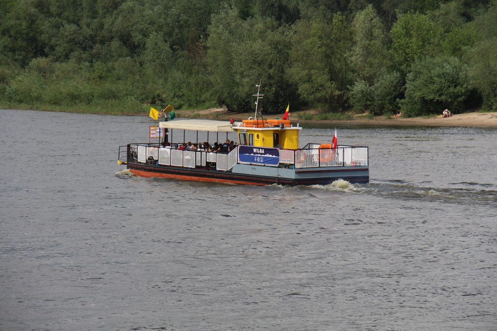 Vistula river ferry