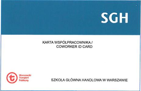 wzór karty współpracownika SGH