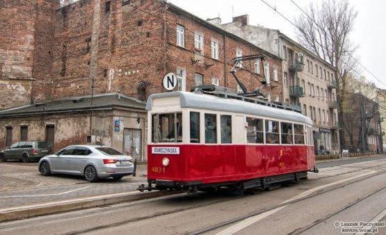 Zabytkowe tramwaje na linii N