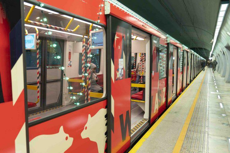 Świąteczne metro jeździ do 6 stycznia