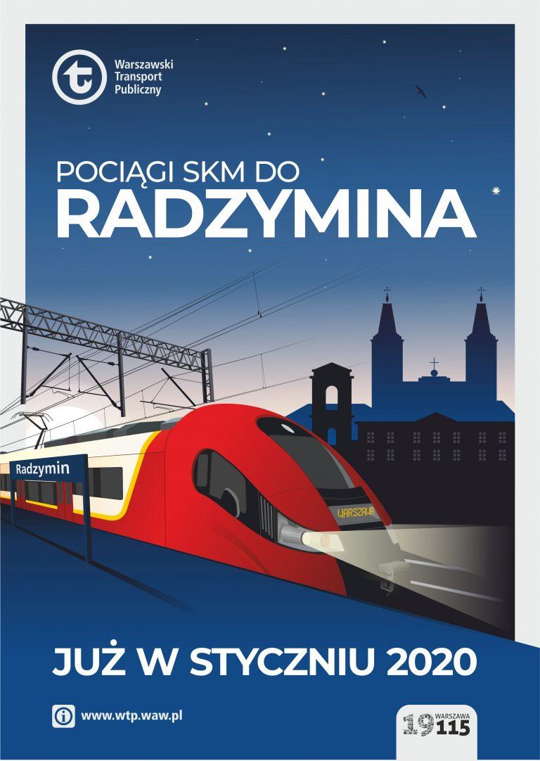Szybką Koleją Miejską do Radzymina
