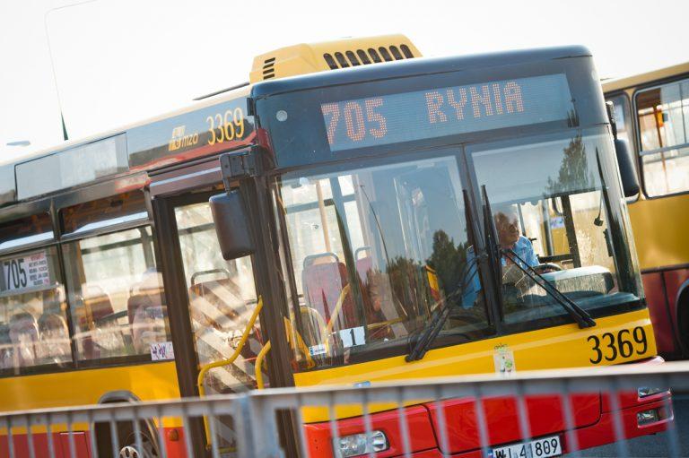 Nowe trasy linii 705