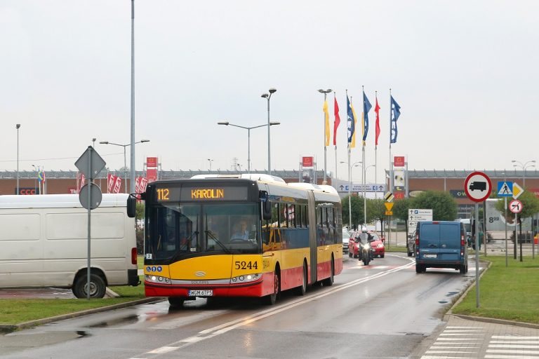 Remont w Markach – autobusy 112 i 412 jeżdżą inaczej