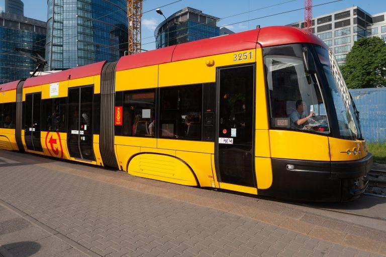 Zmiany tramwajowe na Bródnie