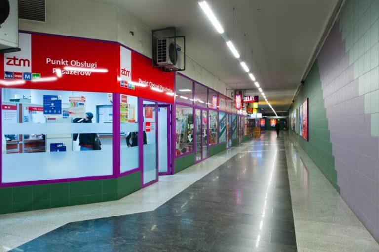 Punkt na stacji Świętokrzyska ponownie otwarty