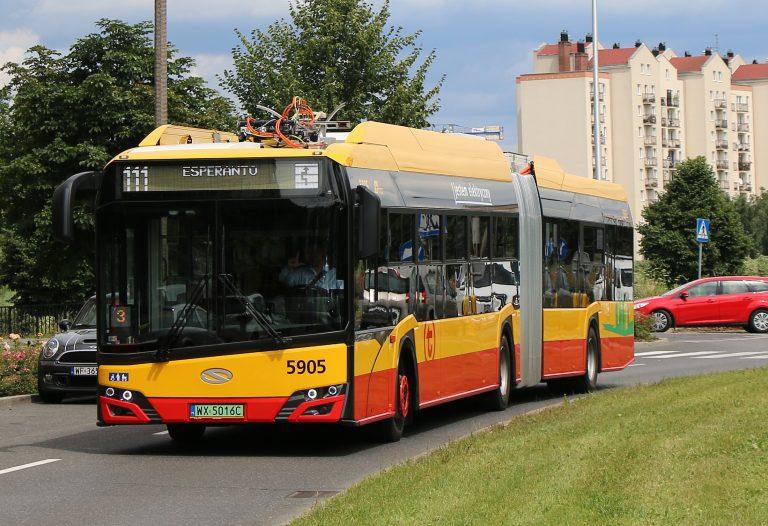 Autobusy wróciły na Saską