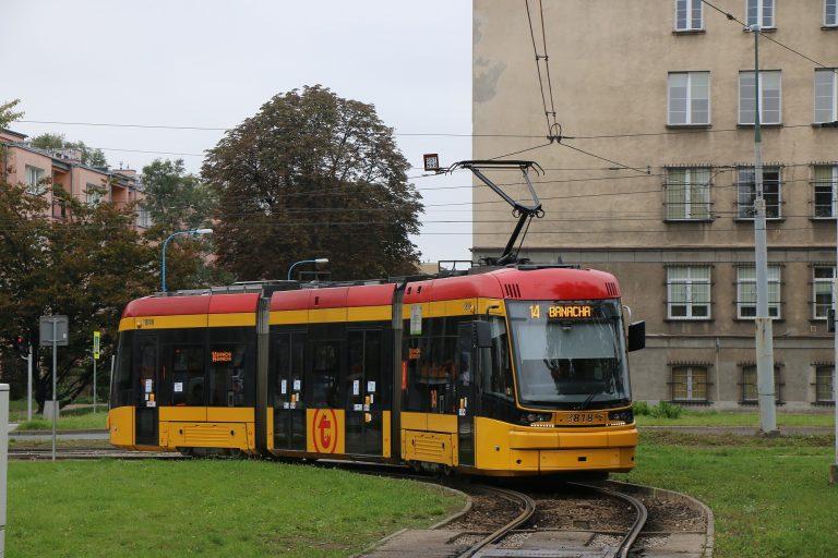 Tramwajowy remont na pl. Zbawiciela