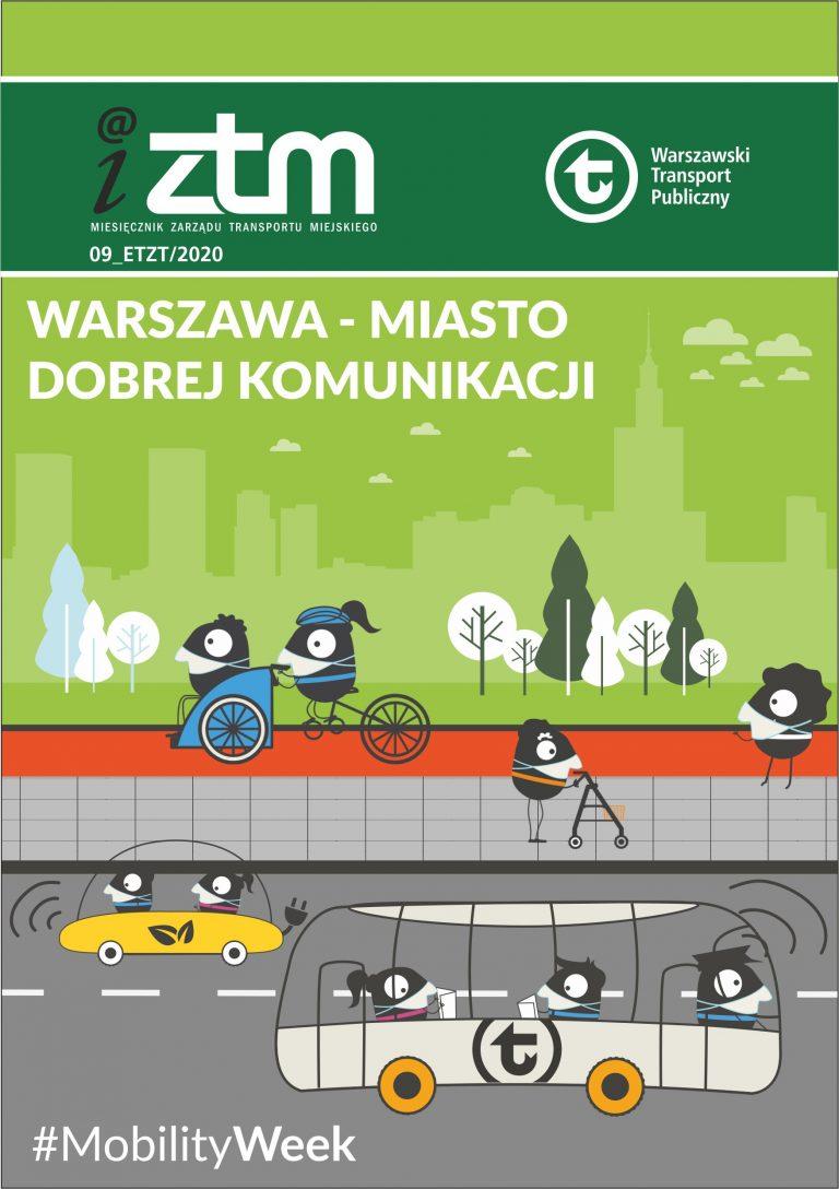 Warszawa – miasto dobrej komunikacji