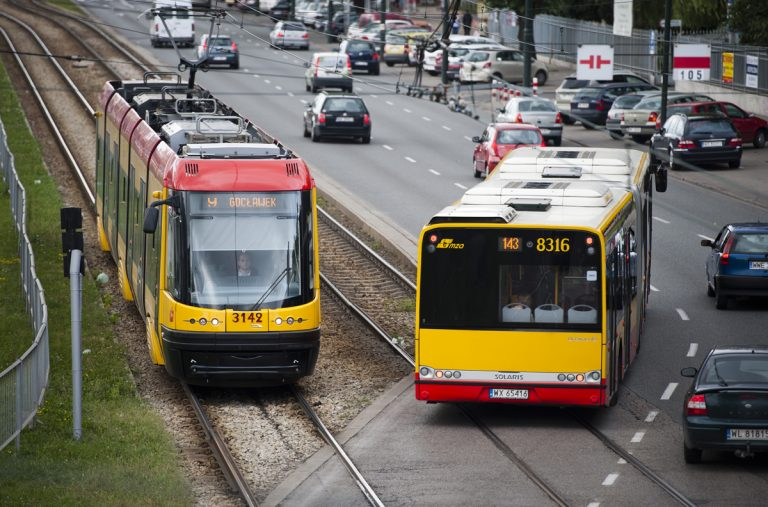 Prace tramwajowe na ul. Grochowskiej