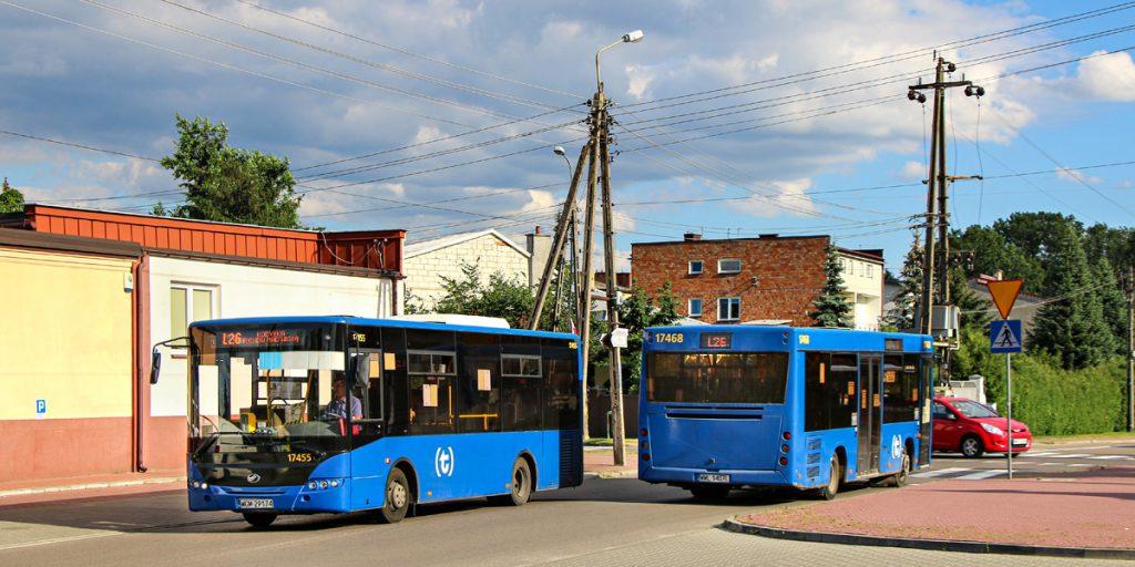 """niskopodłogowe autobusy linii lokalnych """"L"""""""