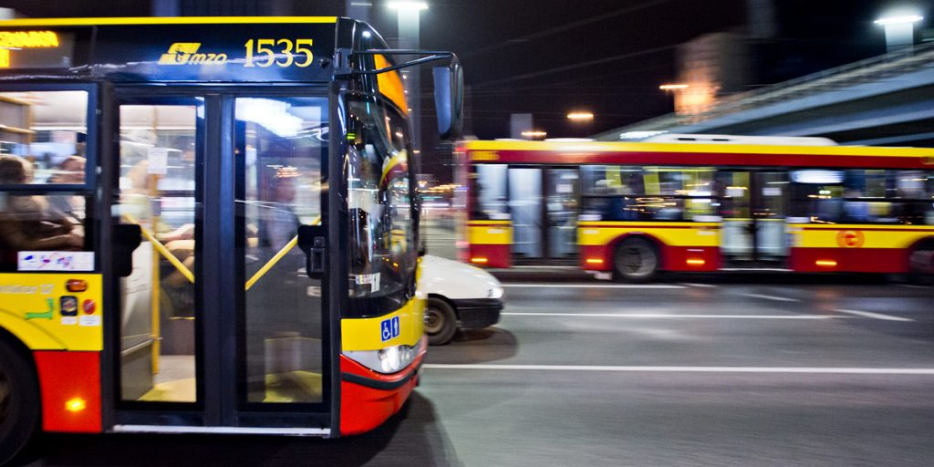 autobusy linii nocnych