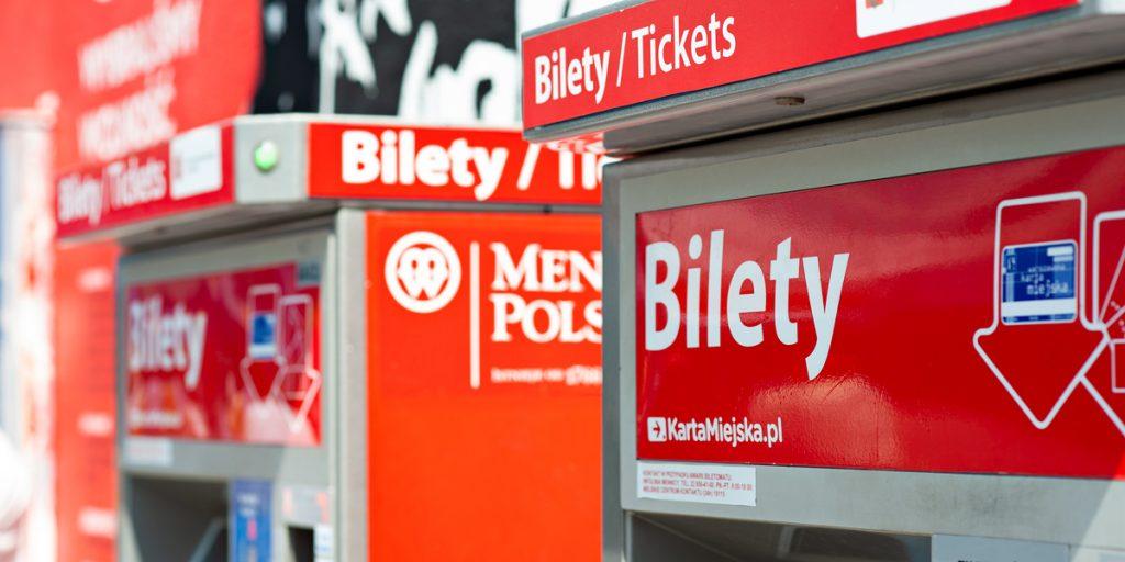 automaty sprzedające bilety