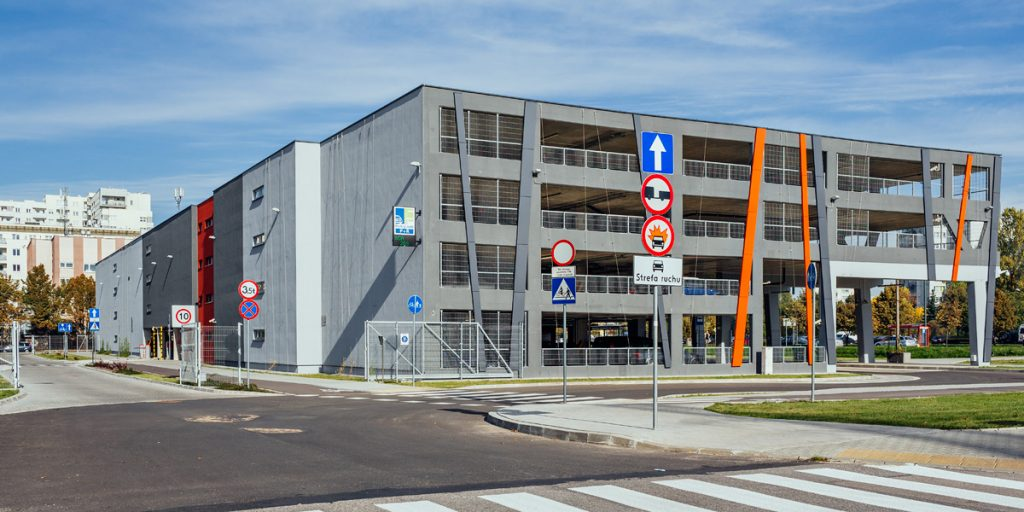 P+R Stokłosy car park