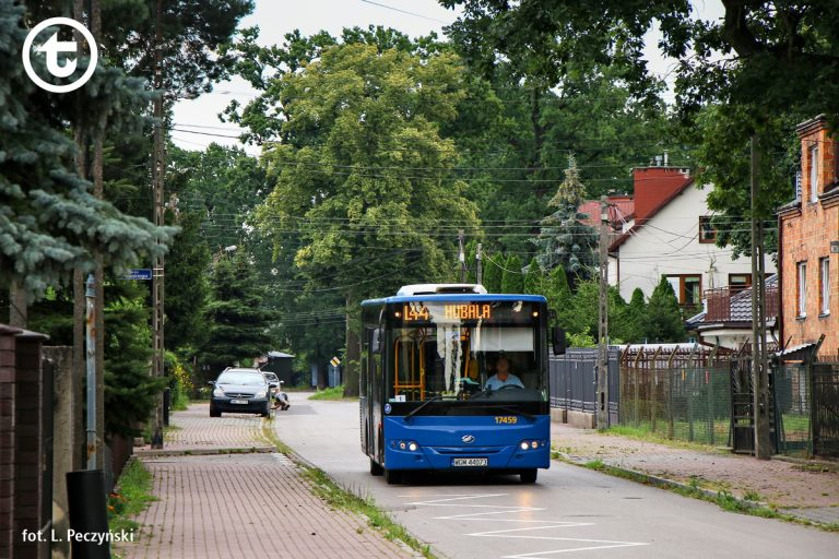Autobusy L43 i L44 na dłuższej trasie