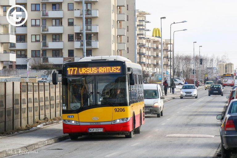 Linia 177 na krótszej trasie