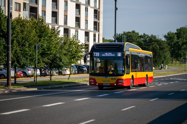 Zmiany rozkładów autobusowych na Puławskiej