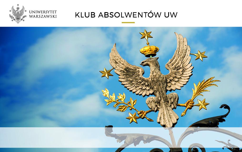 wzór awersu Karty Absolwenta Uniwersytetu Warszawskiego
