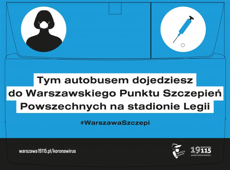 Warszawski Transport Publiczny zawiezie na szczepienia