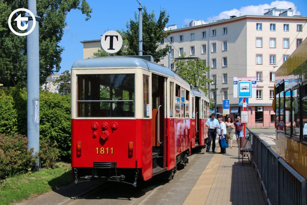 Zabytkowy tramwaj linii T