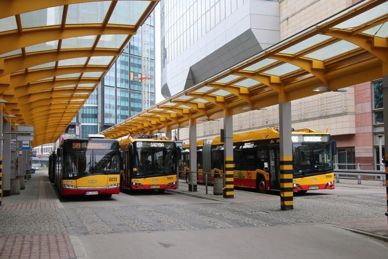 Weekendowe zmiany na pętli Dworzec Centralny