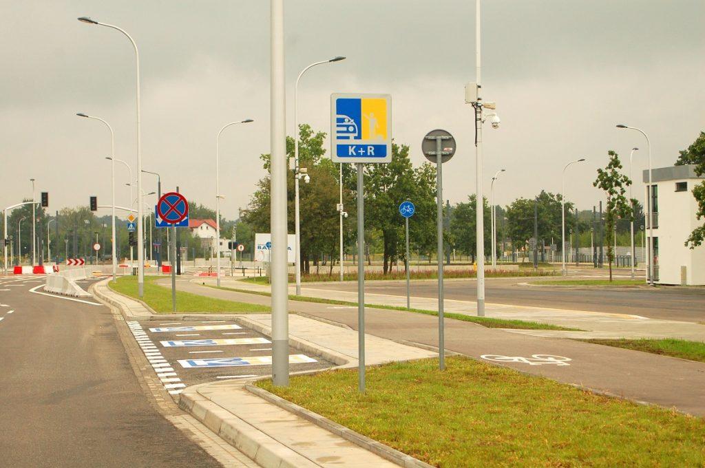 zdjęcie strefy K+R - Winnica